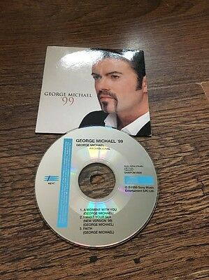 ❣RARE❣️SPAIN PROMO CD•'99 : A Moment With You~George Michael (Wham!)