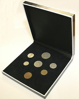 1957 Complete British Coin Set in a Specially Designed Quality Presentation Case