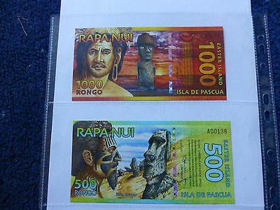 banknotes easter island notes
