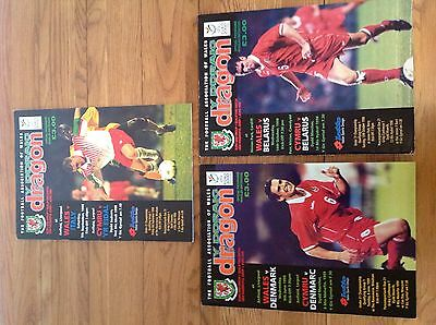 wales FA official Match Programme