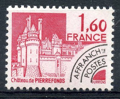 Stamp / Timbre France Neuf Preoblitere N° 168 ** Chateau De Pierrefonds