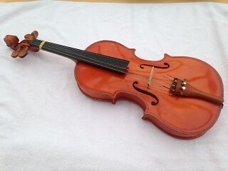 "Stender 3/4 21""Student Violin.  Good condition but bow and 1 string need fixing"