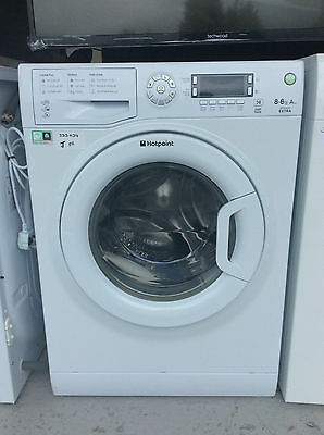 Hotpoint WDXD8640P Aquarius 8Kg/6Kg 1400 Spin Washer Dryer UK DELIVERY #333034