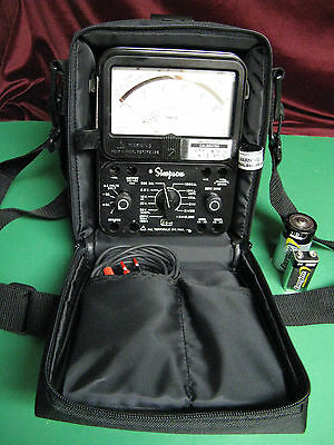 Simpson 260 Series 8P  Relay Protected-With Black Soft Case