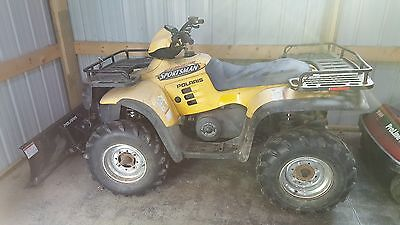 2003? Polaris sportsman 700 twin with winch and snow plow