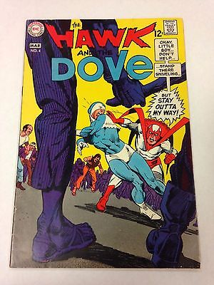 The Hawk And The Dove #4 March 1969
