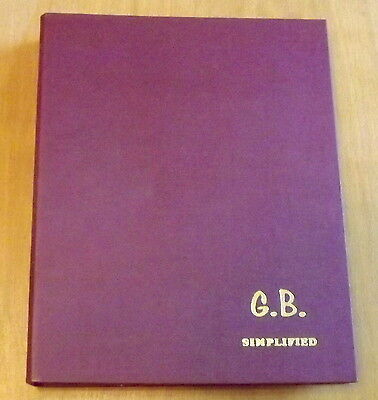 ACE G.B. SIMPLIFIED Stamp Album. From 1858 to 1978. See  photos.