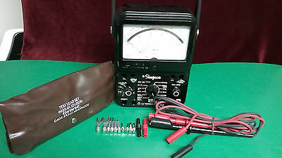 Simpson 260 Series 8P  Fuse & Relay Protection Circuit + Circuit Tester