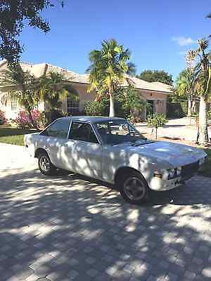 1974 Fiat 124 Sports Coupe  1974 Fiat 124 Sports Coupe (LOW RESERVE!)