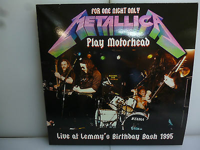 Metallica-Live At Lemmy's Birthday Bash '95.usa 1995-Red Vinyl Lp-New.sealed.