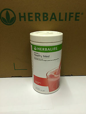 Herbalife - Formula 1 Shake Meal Replacement Drink - STRAWBERRY 550g - NEW