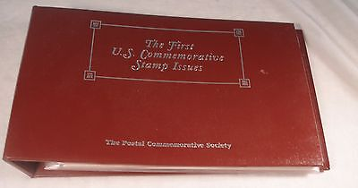 The First U.S. Commemorative Stamp Issues, 1893 - 1928, With Binder