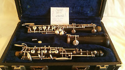 CABART OBOE #25240 Made in France. Late 1960s??? needs love