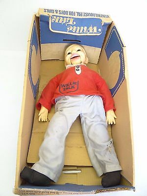 Vintage Used Ventriloquist Pal for Girls & Boys Willie Talk Horsman Doll Parts