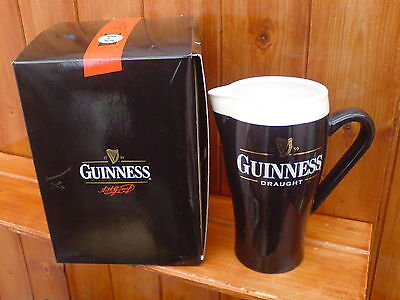 Brand New Boxed Ceramic Guinness Pint Jug Free P+P Uk Only