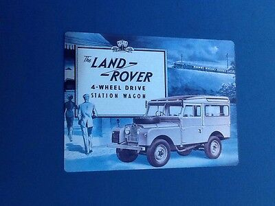 Land Rover Metal Display Sign, Of The Highest Quality !.