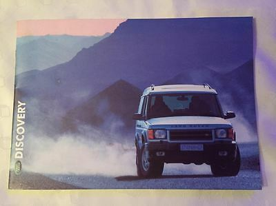 Land Rover DISCOVERY Brochure 2000