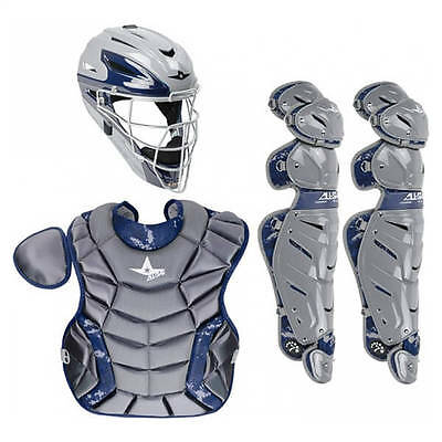 All-Star System Seven Youth Camo Pro Catching Kit 9-12 CK912S7DC GRAPHITE/NAVY