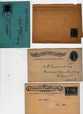 Queen Victoria  postal stationery