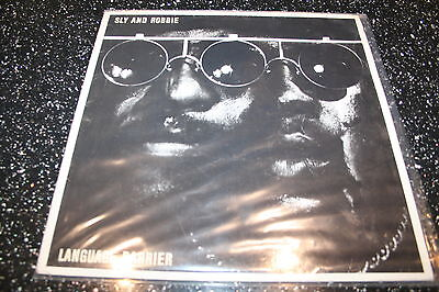 Sly And Robbie Language Barrier Vinyl Record Lp Excellent
