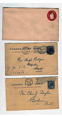 Queen Victoria  King Edward POstal stationery