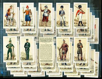 SET – 50 x UNIFORMS OF THE TERRITORIAL ARMY – PLAYERS – 1939