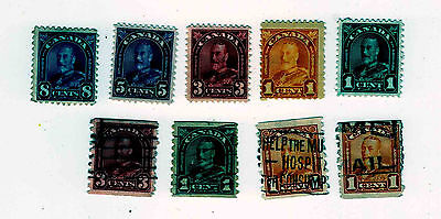 George V Various Mint And Used