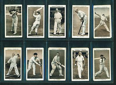 16 x PROMINENT CRICKETERS OF 1938 – OGDEN'S