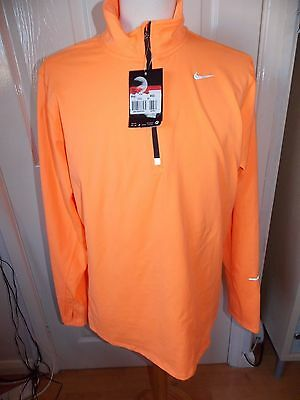 Bnwt Mens Designer Nike Stay Warm Dri Fit Running Jacket Rrp £75 Uk Size Large