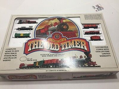 "Bachmann ""The Old Timer"" N scale Train Set Complete with Track"