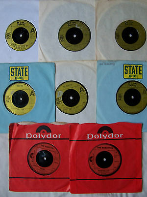 """Joblot Of Rubettes 7"""" Single X 8 ** Most In Original Company Sleeves ** Ex"""