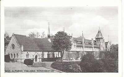 King Alfreds college Winchester early postcard