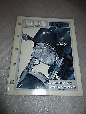 1999 Buell Cyclone M2 Parts Catalog