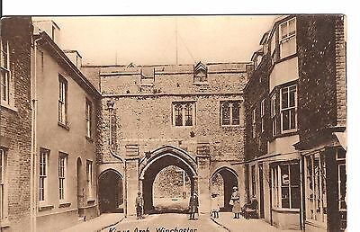 Kings Arch winchester early postcard