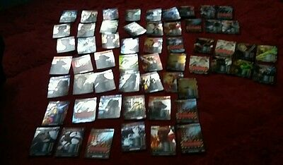 54  x DOCTOR dr who rare +super rare BATTLES IN TIME CARDS rose daleks etc..