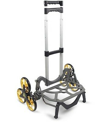 6 Wheel STAIR CLIMBING CART Grocery Laundry Basket Luggage Dolly Hand Truck