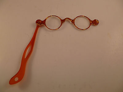 French Plastic Lorgnette Steampunk Cool Glasses