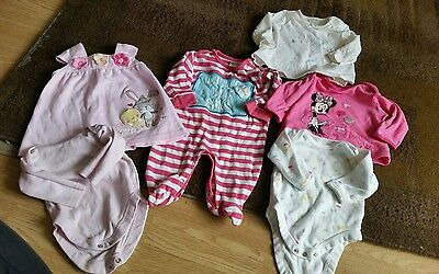 Baby girls x6 item bundle 0-3 months from next george