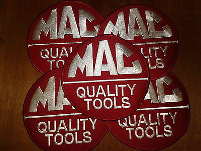 Vintage Mac Tools Large Patch Lot of 5 iron / see on