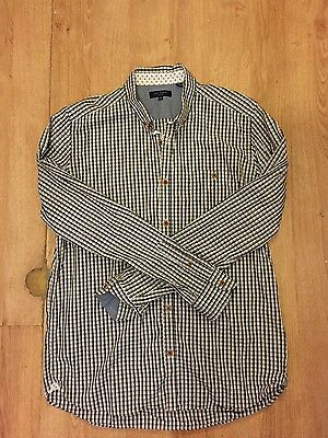 Genuine TED BAKER Men's Smart Casual Shirt - Size 5 (Large) Only Been Worn Once
