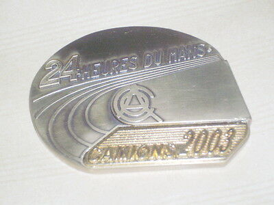 Medaille Bronze 24 Heures Du Mans Camion 2003 Pilote / Lorry Truck 24 Hours