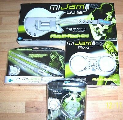 Mi JAM ACCESSORY BUNDLE JUST PLUG INTO YOUR iPOD PLAYER & JAM!PERFECT XMAS-GIFT