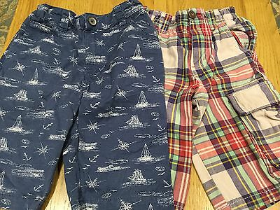 2 pairs of boys shorts Boden and Tu age 7