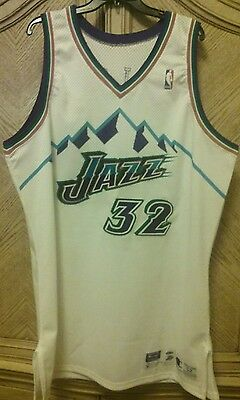 "Karl ""The Mailman"" Malone Game Worn Jersey 1997-1998"