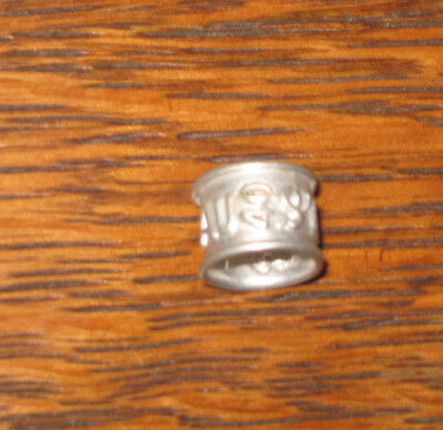 Racing Pigeon Ring/Band AU 40 STF 156 Metal Aluminum 1940 Club Vintage