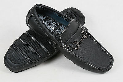FERRERA COUTURE Italian collection mens Loafers Slip On black new sz 9