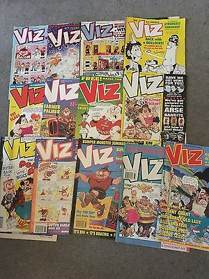 VIZ comics job lot ..  13 in total  , some issues from 63 to 88 ....