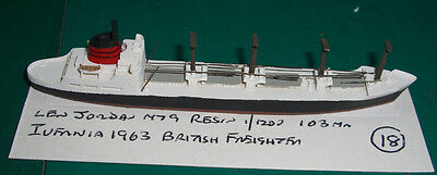 Ivernia 1963 British Freighter by Len Jordan M79, Scale 1/1200 1/1250