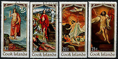 Cook Islands 1970 SG#316-9 Easter Paintings Cto Used Set #D42539