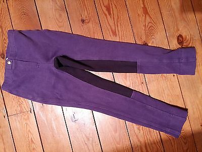 "Purple Jodhpurs Jodphurs Child 22"" Regular 122-128cm Age 6/7 years"